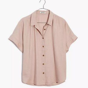 Madewell Linen-Blend Hilltop Shirt